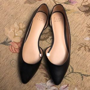 Black Flats Size 7.5 brand: a new day (target)